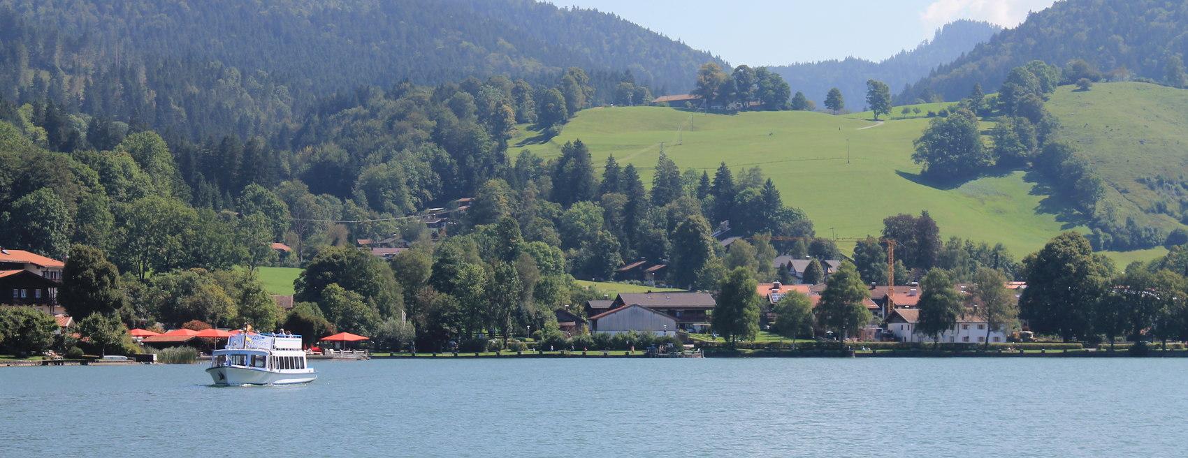 Ausflug mit dem Dampfer auf dem Schliersee